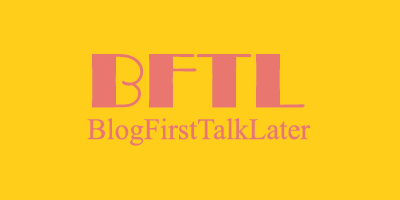 BlogFirstTalkLater Logo