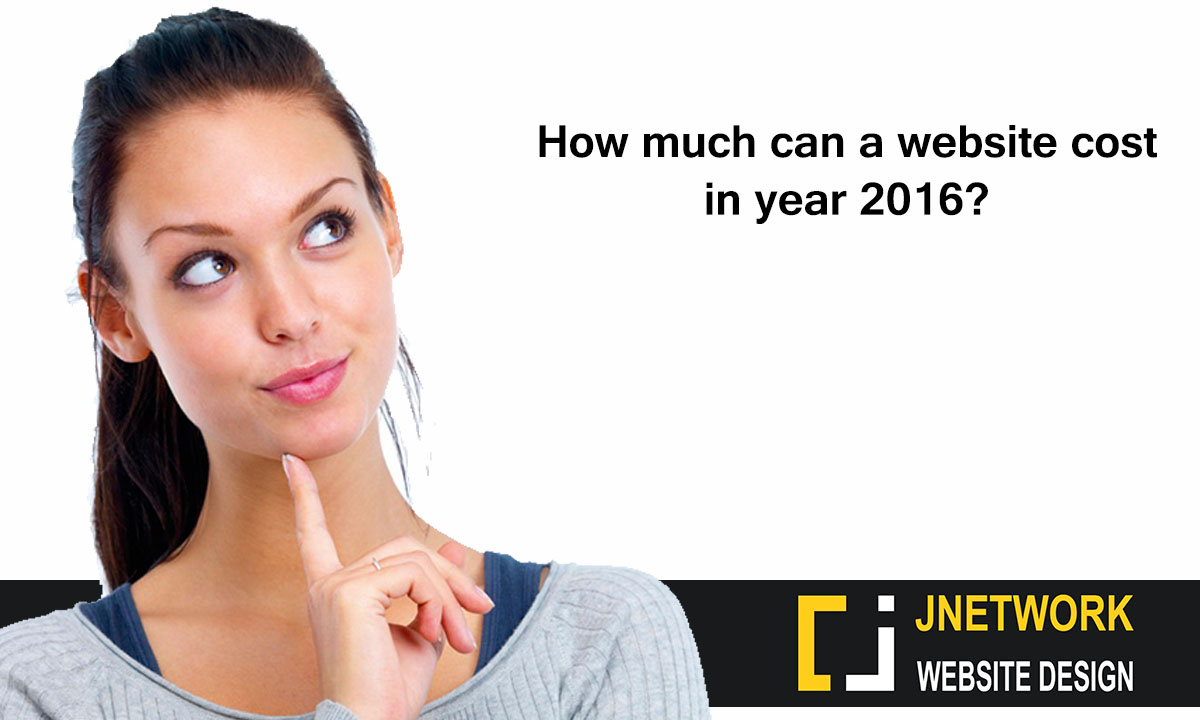 How Much Can A Website Cost In Year 2016